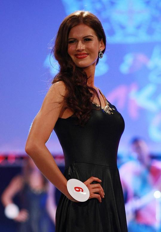 Carina Tyrrell se stala vítězkou soutěže Miss England.
