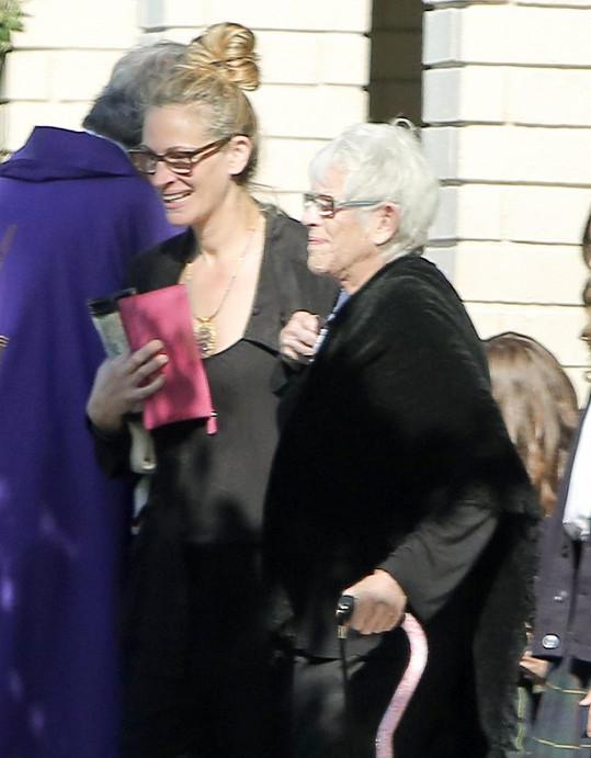 Julia Roberts měla s maminkou blízký vztah.