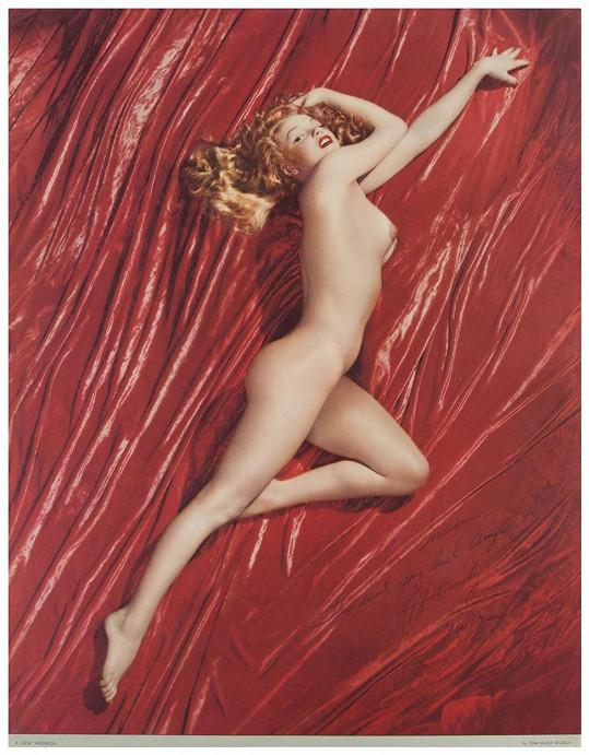 Marilyn Monroe v prvním vydání Playboye