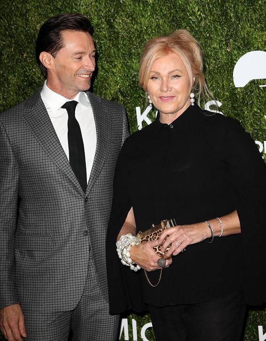 Hugh Jackman pěje ódy na svou manželku Deborru už 24 let.