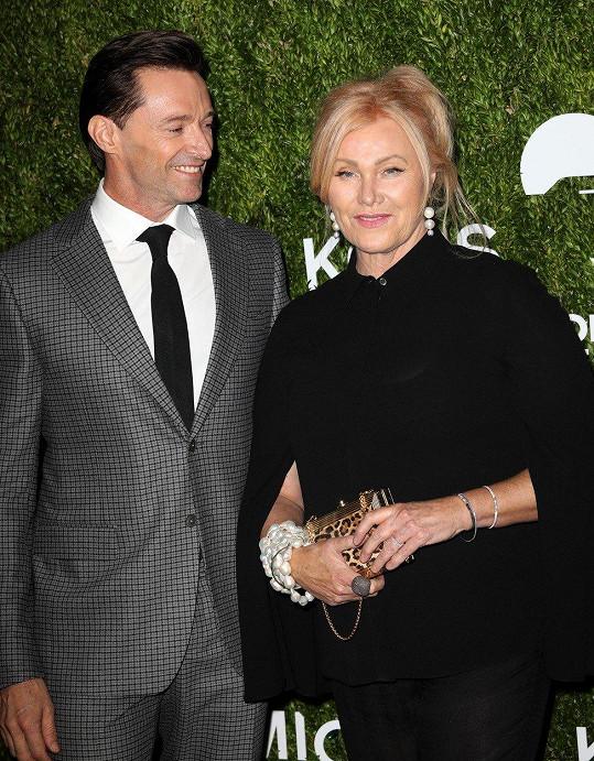 Hugh Jackman s manželkou Deborrou-Lee Furness vždy vypadají skvěle.