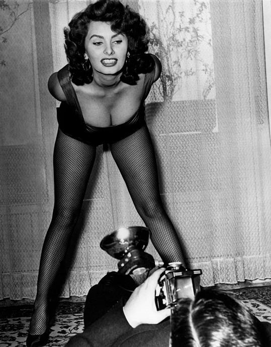 Sophia patřila k největším sexbombám evropského filmu právem.