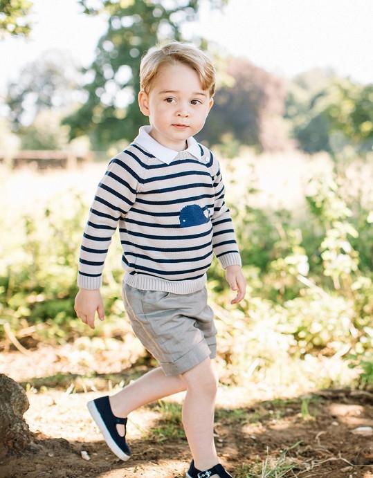 Potomek Williama a Kate by mohl předvádět dětskou módu.