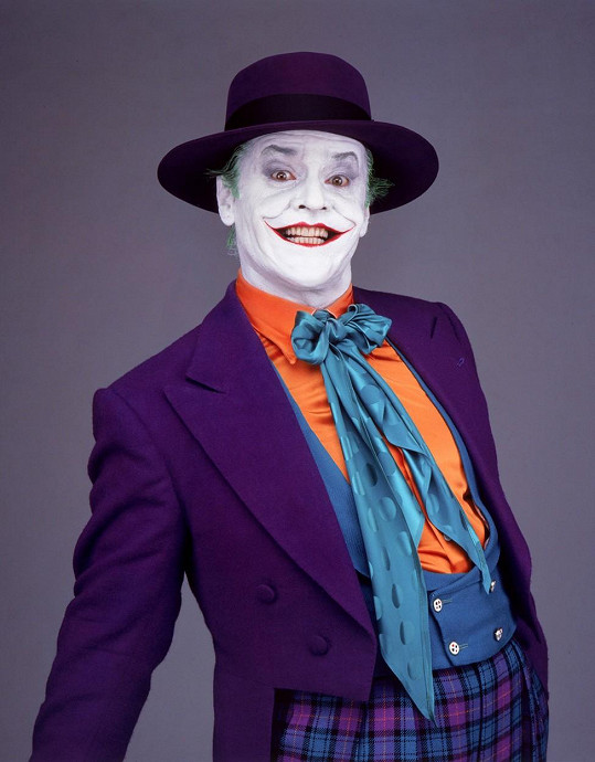 Jack Nicholson jako Joker v Batmanovi z roku 1989