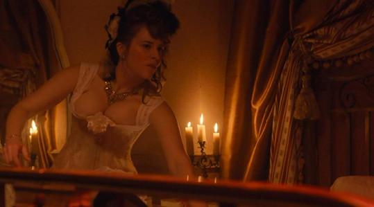 Petra si dle svých slov roli prostitutky Mimi užívala.