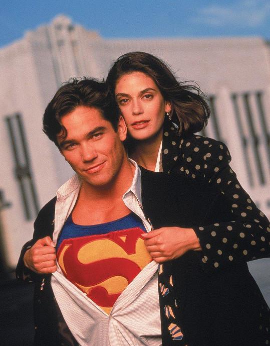 Teri Hatcher jako Lois v populárním seriálu Superman