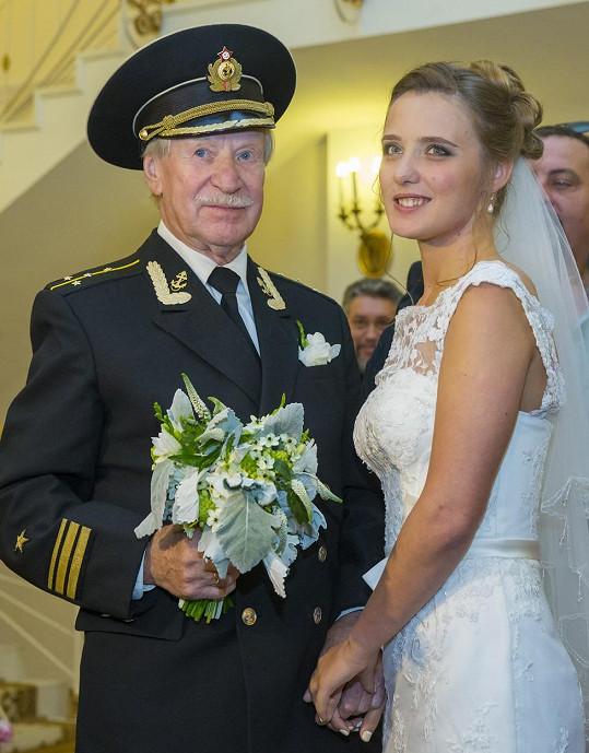 Srdce herce Ivana Kraska vzplálo k Natalii Shevel.