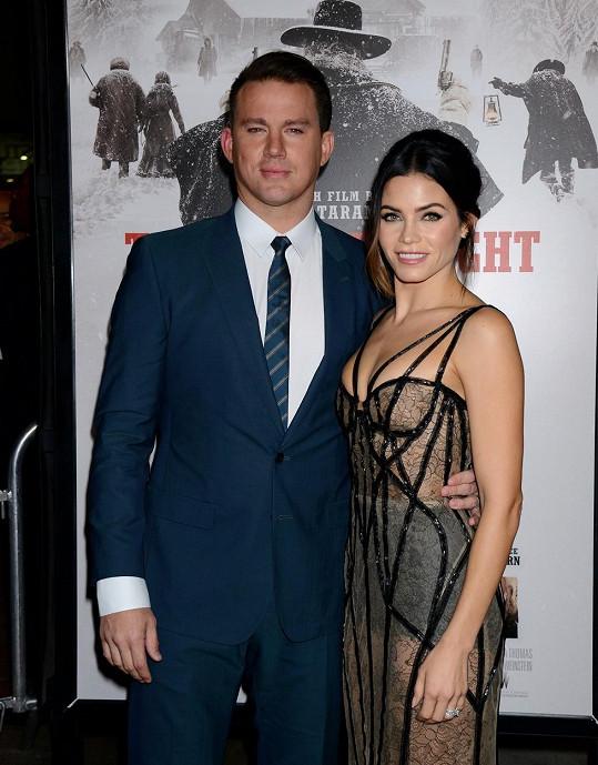 Herečtí manželé se poznali při natáčení filmu Let´s Dance.
