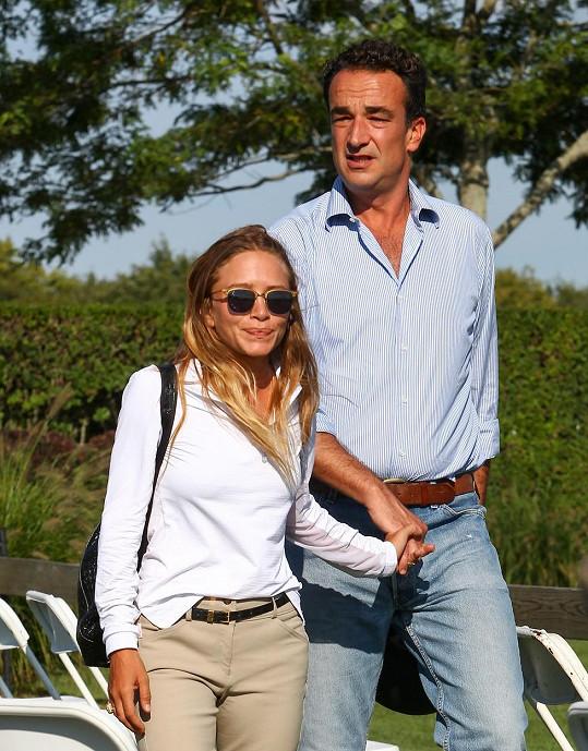Mary-Kate Olsen s manželem Olivierem Sarkozym
