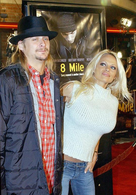Kid Rock se svou exmanželkou Pamelou Anderson