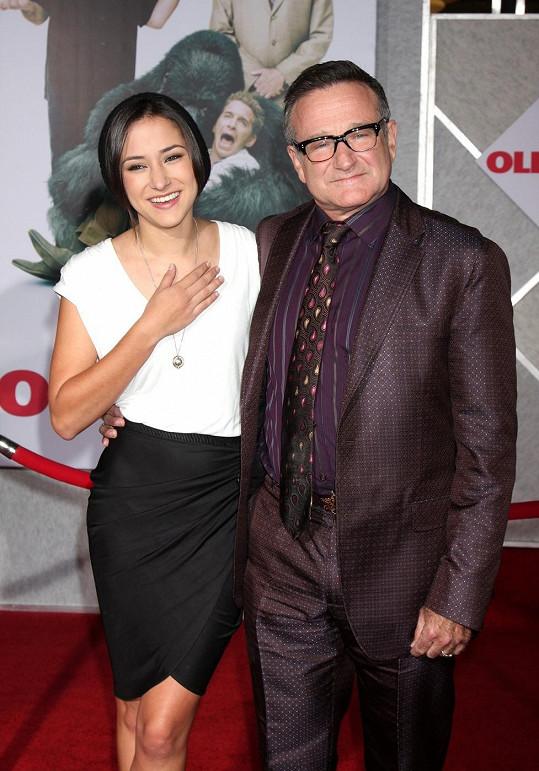 Robin Williams a dcera Zelda Rae