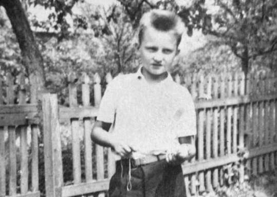 Pavel Soukup jako malý kluk