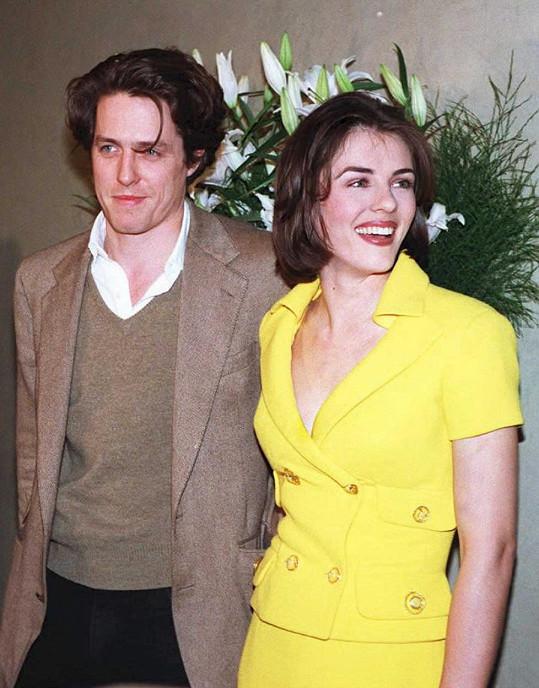 Hugh Grant byl jejím partnerem od roku 1987 až do roku 2000. Herec je také kmotrem jejího syna Damiana.