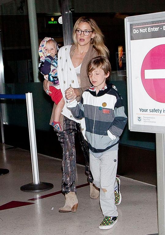 Kate Hudson s dětmi.