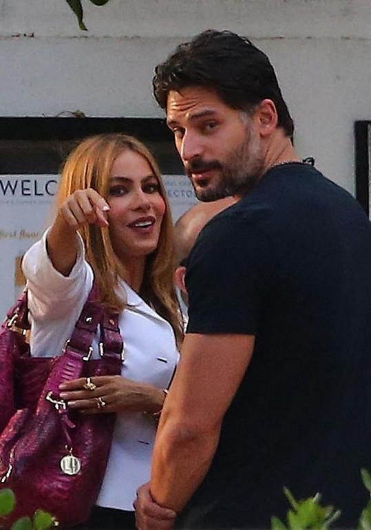Sofia Vergara a Joe Manganiello už se nesnaží skrývat...