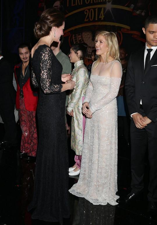 Ellie si oblíbila i vévodkyně Kate.