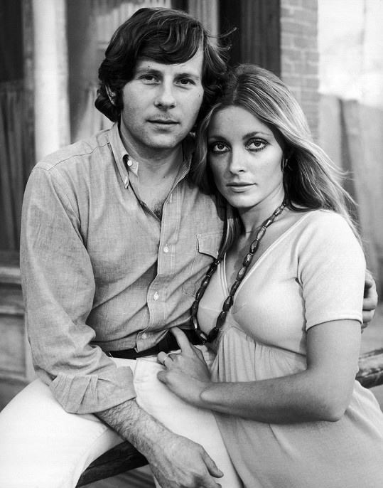 Sharon Tate a Roman Polanski krátce před hereččinou smrtí