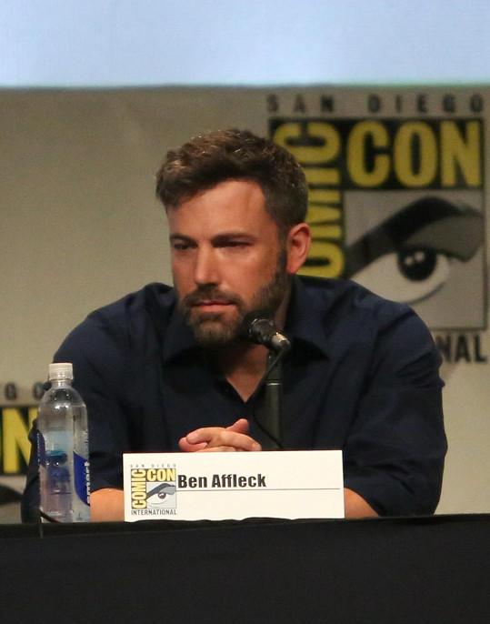 Ben byl ve špatné náladě i na Comic-Conu v San Diegu.