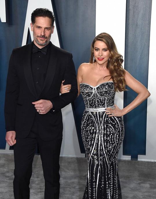 Sofia Vergara s manželem Joem Manganiellem