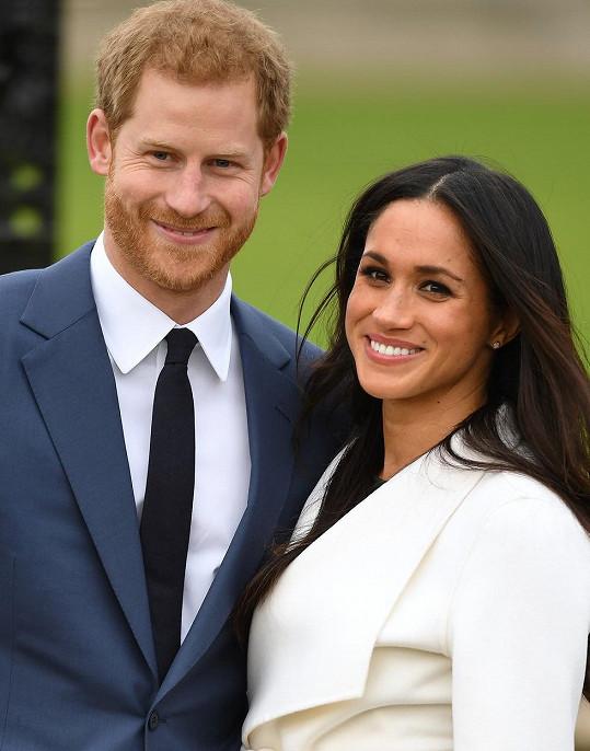 Harry a Meghan oznámili narození dcerky.