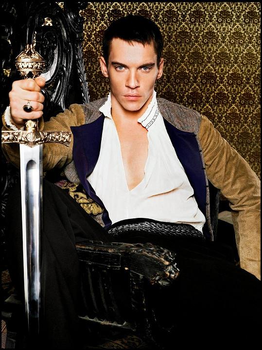 Jonathan Rhys Meyers jako Jindřich VIII. v seriálu Tudorovci