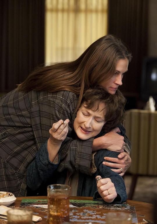 Julia Roberts a Mery Streep ve filmu Blízko od sebe, v němž si zahrála i Misty.