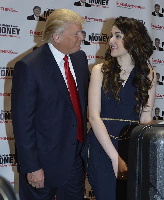 Zpěvačka má podporu i amerického milionáře Donalda Trumpa.