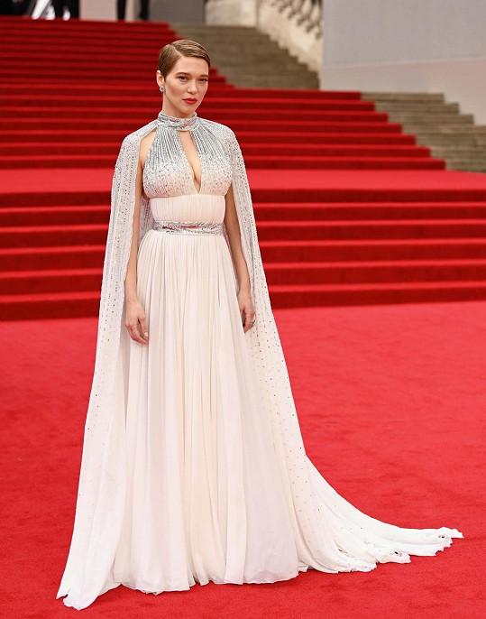 Na tu vsadila i herečka Lea Seydoux.