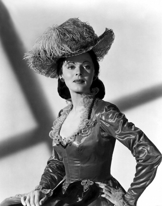 Lorna ve filmu Dead Reckoning (1947)