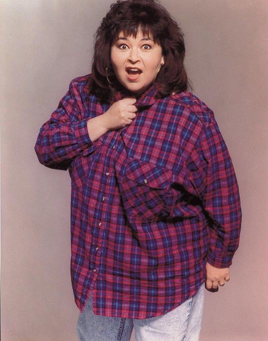 Roseanne Barr bojovala s nadváhou celý život.