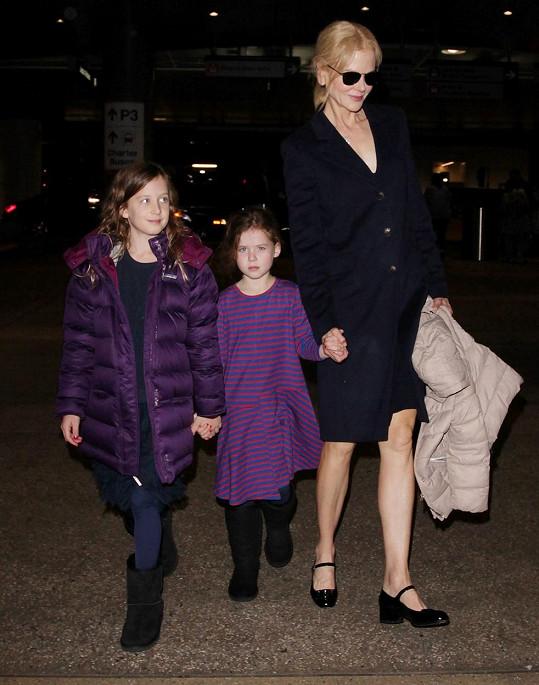 Nicole Kidman má dvě dcery s Keithem Urbanem