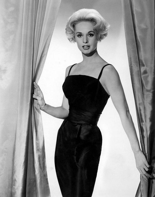 Herečka se v 50. letech věnovala modelingu.