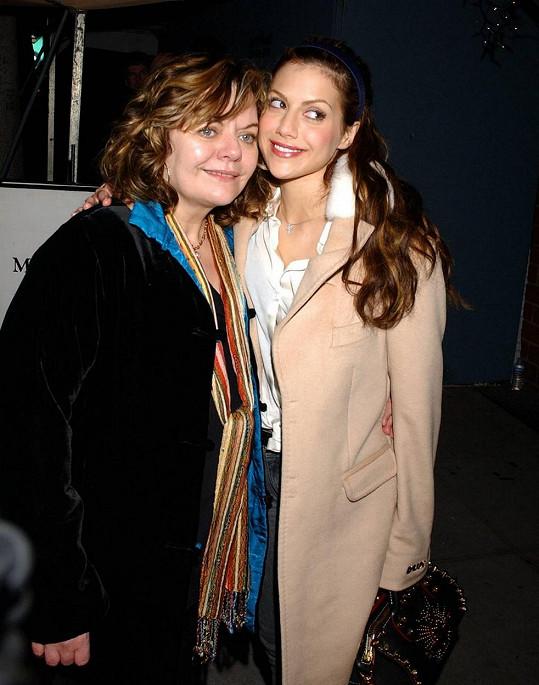 S matkou Sharon, která žila s párem v domě.