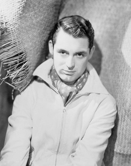 Začínající hvězda Archibald Alexander Leach, kterého dnes celý svět zná pod jménem Cary Grant.
