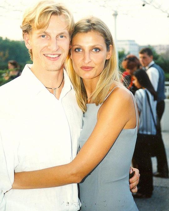 Tereza Maxová se svým bratrem Tomášem