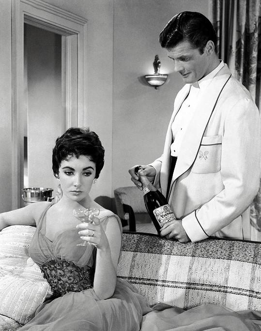 S Elizabeth Taylor ve filmu Když jsem naposledy viděl Paříž (1954)
