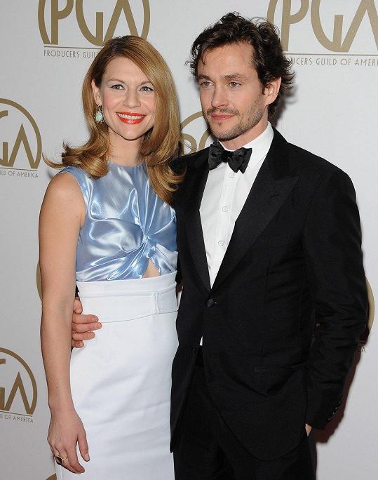 Claire Danes čeká manželem Hughem Dancym druhé dítě.