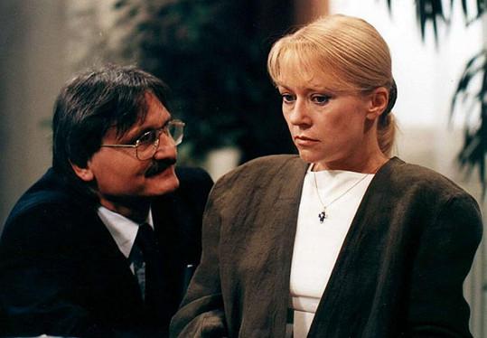 Kateřina Macháčková s Pavlem Soukupem v Životě na zámku