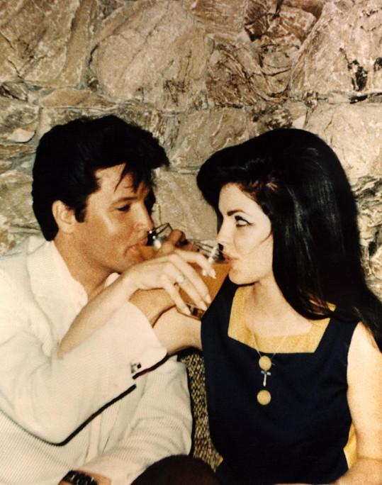 Elvis a Priscilla se vzali v roce 1967.