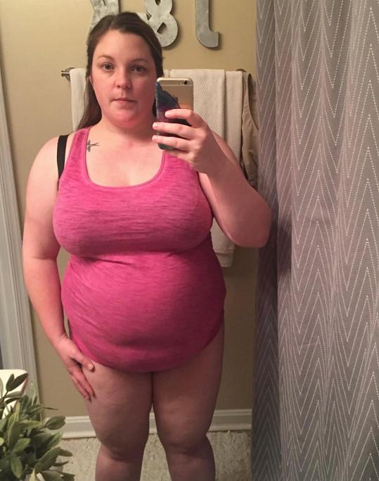 Kara Henderson trpěla obezitou.