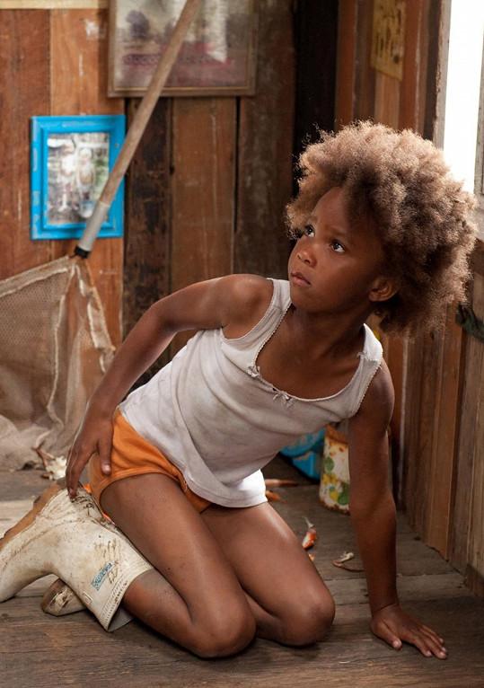 V době, kdy se natáčela Divoká stvoření jižních krajin, jí bylo teprve šest let.