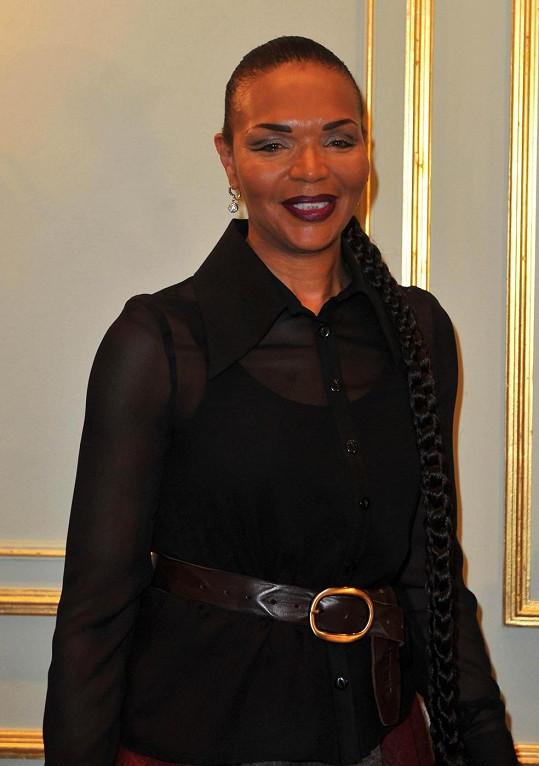 Ten stejně zářivý úsměv: Je jasné, po kom Naomi je.