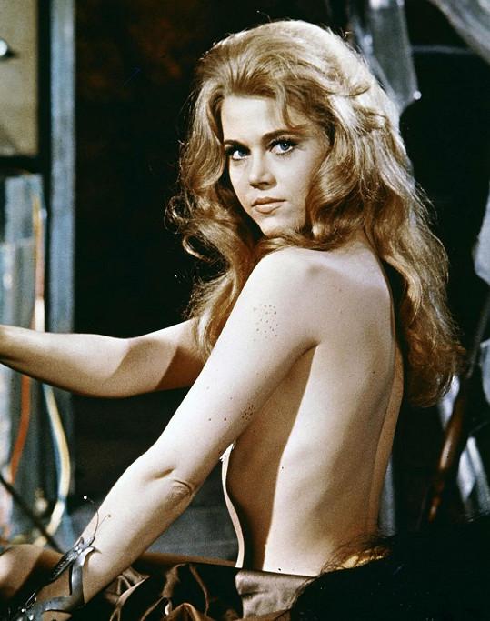 Fonda měla vždy naprosto dokonalou figuru.