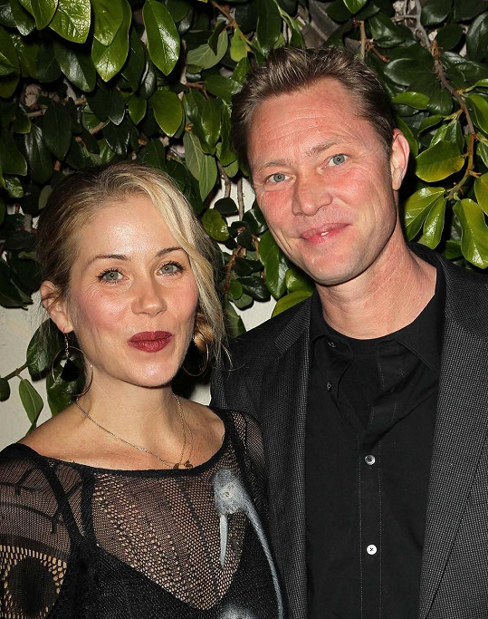 S manželem Martynem LeNoblem