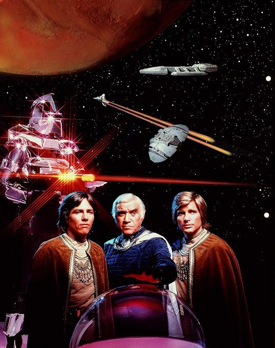 Hatch (vlevo) se proslavil díky seriálu Battlestar Galactica.