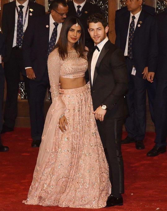 Chopra a Nick Jonas se vzali v prosinci loňského roku.