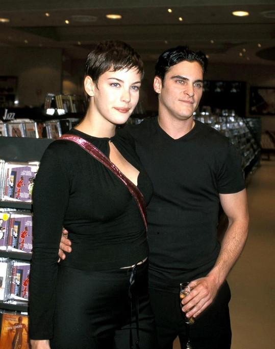 Joaquin Phoenix byl první velkou láskou Liv Tyler.