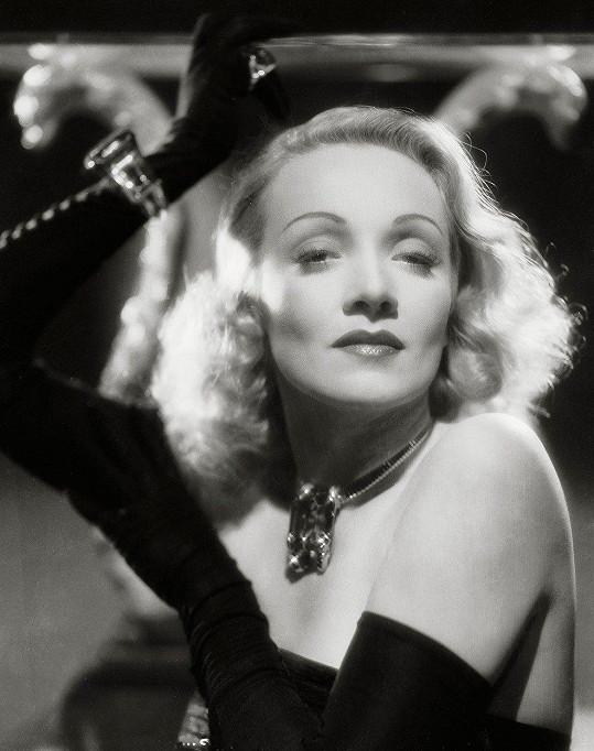 Marlene byla nejen zpěvačkou, ale také slavnou hereckou hvězdou.