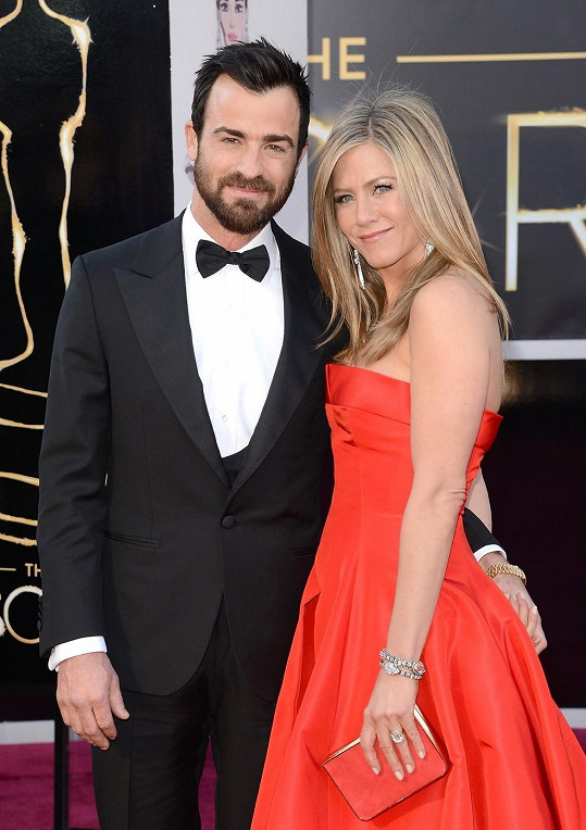 Spokojený pár: Justin a Jennifer.