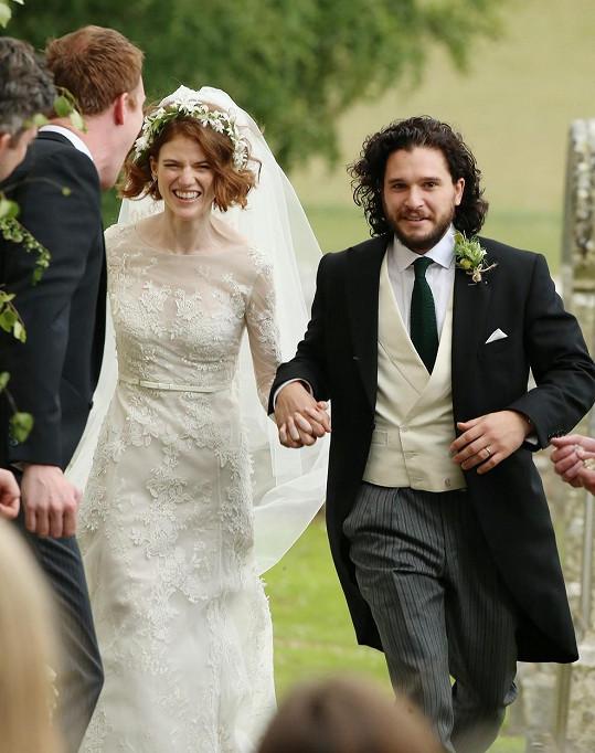 Manželé jsou od června roku 2018.